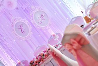 dekoracje sal i kościołów, słodki stół, candy bar szczecinek