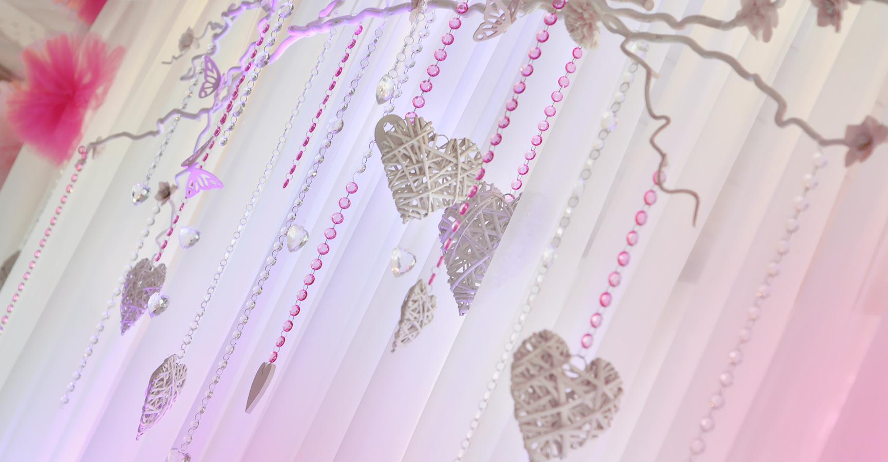 Dekoracje sal i kościołów szczecinek, dekoracje ślubne